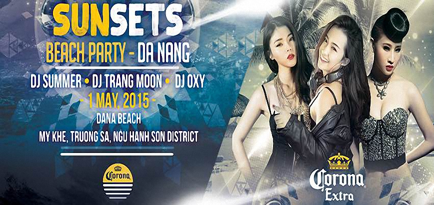 Beach Party DaNang 2015 - Corona Event